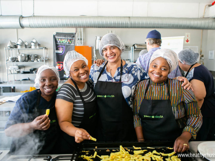 HSI/Africa and the Western Cape Government launch the first South African plant-based cooking course for communities